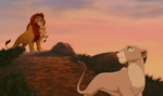 How come Simba did'nt want Nala to be around when he was talking to Kiara just before the song We Are One.