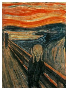 Why is the Man in The Scream Screaming?