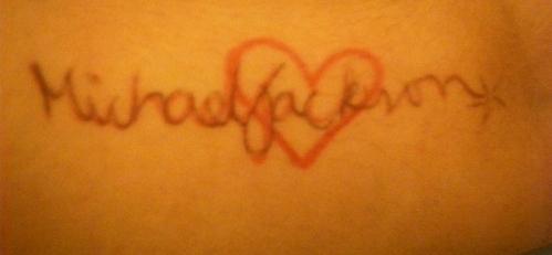 do آپ like my new tattoo?