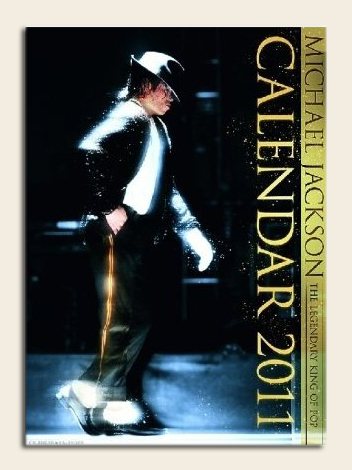 Michael Jackson -Next June 22 the new calendar 2011 comes out.