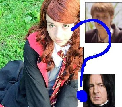 was lily really ment 4 james 또는 severus?