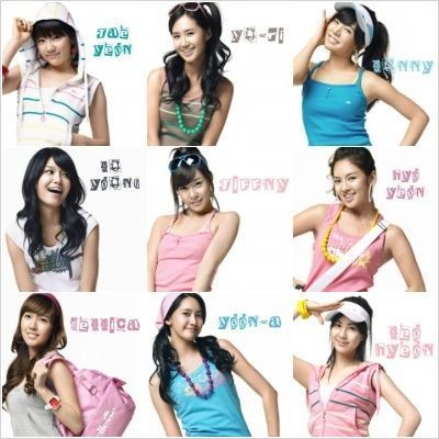 What রঙ do আপনি think fit each member of SNSD best?