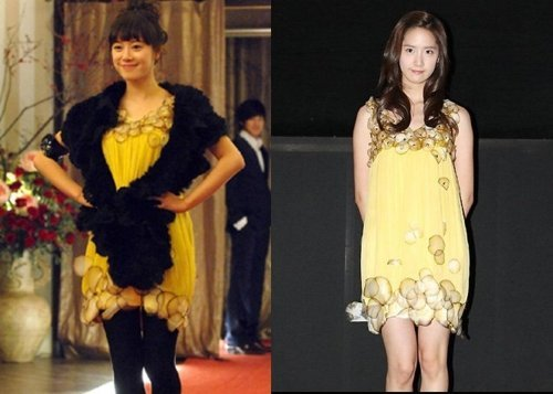 Who wore it better?Yoona or Hye Sun?