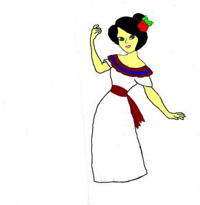 I hear people saying they want a hispanic princess. What do Du think of this Design I made for one?