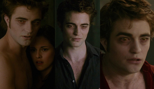 Why do you think Edward looks so crappy when we see him in Volterra? I know he's heartsick, but... he's a vampire.  Their appearance can't change.  He's not hungry, because his eyes are yellow. This has been bugging me.