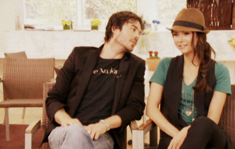 I was just wondering if anyone has ever asked Ian/Nina if they were dating ?