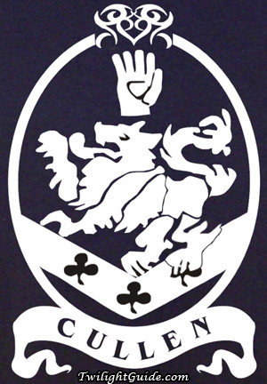 Why do the Cullen Family have the cullen logo/crest