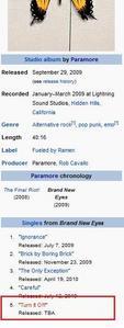 Turn It Off: Paramore's seguinte Single.