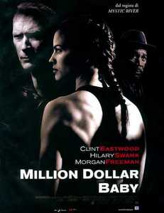 Did te cry at the end of 'Million Dollar Baby'?