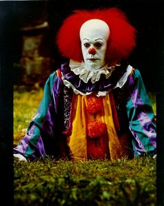 have u ever seen it the killer clown movie by steven king