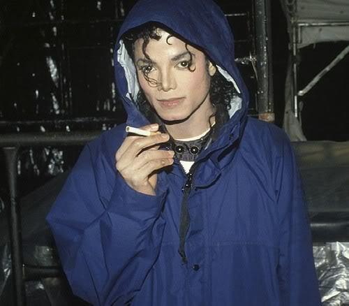 DID MJ SMOKE?