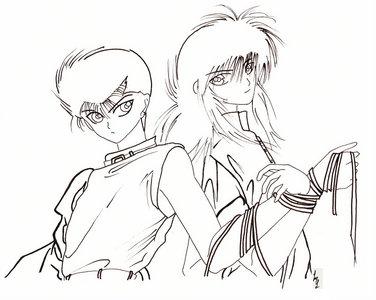 Do wewe think Kurama would allow Youko to have Yusuke too??