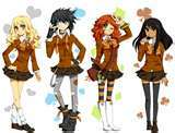 There's this club I found called Percy Jackson Girls, if u are fans of any of the girls in Percy Jackson, go ahead and join!