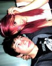Do anda like my red hair?