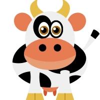 completely bila mpangilio and a bit of a weirdo! Ha, u like the cow?!