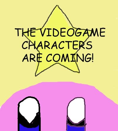 """I'd say, """"OMG!!!! IT'S KIRBY!!!"""". Then I'd give him a great big hug. :) Then we Поиск the area for any other videogame characters lurking about. :)"""