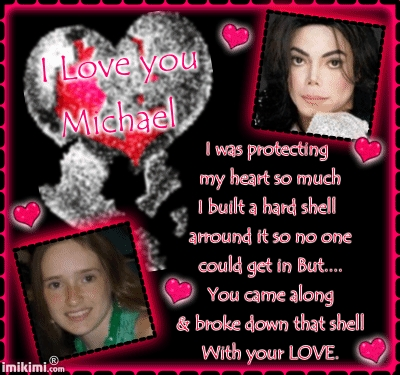 Michael is like my best friend. He never fails to be there for me (symbolically) God knows I love him <3<3<3