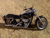 harley dyna wide glide with high rise drag bars which i would not install on my dyna