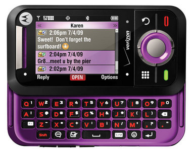 Motorola Rival in black and purple!
