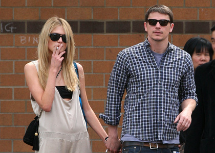 Yes. He is dating Norwegian model Sophia Lie. Still. Since about January/February 2009.