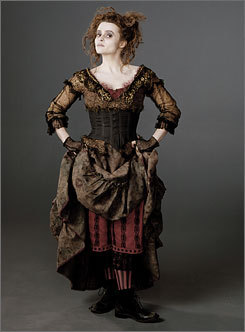 I'm going to be Mrs. Lovett from the Sweeney Todd movie :D
