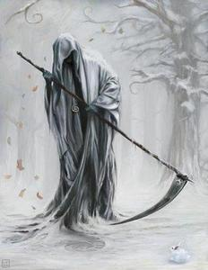im being Grim Reaper for Halloween!i cant wait for Trick or Treating tonight!