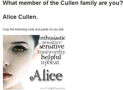 I've made some:P And I always got Alice! Here: