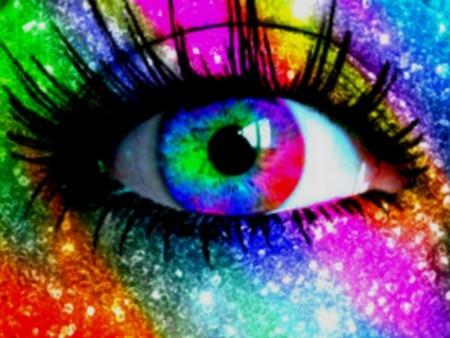 Colorful Eye! I like it!