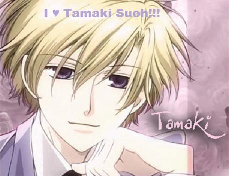 My favroite host is tamaki because he's sweet, smart, funny, sincere, understanding, gentle, romantic, cute, willing to help anyone, musical etc.