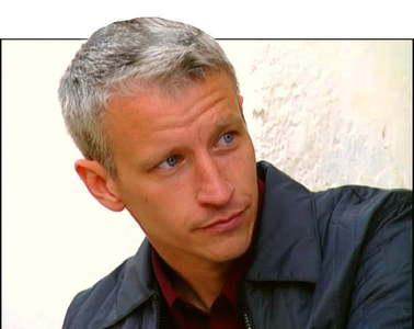 "Anderson Cooper TV host, Journalist, News Anchor Hosts ""Anderson Cooper 360"" on CNN"