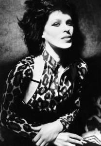 1.Judy Nylon 2.ex-Snatch (with Patti Palladin) 3.has worked with Brian Eno, John Cale(ex-Velvet Underground), Jim Foetus, Cossi Fanni Tutti(ex-Throbbing Gristle) & Glen Matlock(ex-Sex Pistols), just to name a few ... 4. Investigator in Asthetics & Technology, an amazing woman & brilliant mind, Cinta Judy dearly! 5. check me Snatch site at Fanpop to find out more, even if it's just for the cloths ladys she is an amazing rolemodel to women & men everywhere. SNATCH Patti Palladin + Judy Nylon