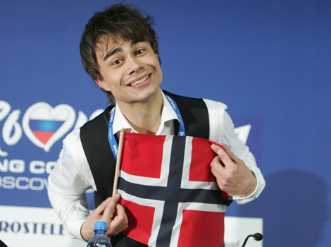 1.Alexander Rybak 2.Singer,violinist 3.He win eurovision 2009, he is from Norway