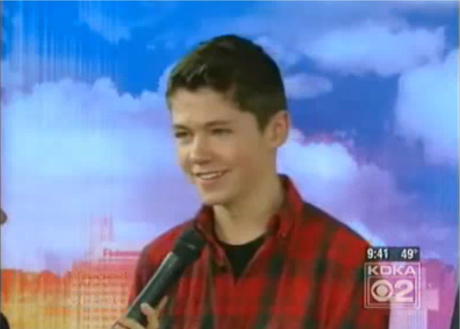 DAMIAN McGINTY He's a singer from Ireland