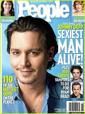 For sure Johnny is the sexiest man alive and I also understand that people have different opinios and I respect each others opinion but for me he is the most sexiest of all time. Come on he is 46 years and he look like a 25 years old guy. He is awezome that's why I pag-ibig him(^_^) and that's why many of us pag-ibig him. He deserve this and much more. I pag-ibig you Johnny.By the way He looks awesome in the People cover magazine!!!!!!! Como on ladys let go and buy it!!!!
