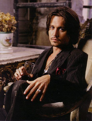 Johnny Depp Vampire Movie. Johnny Depp becomes a vampire!