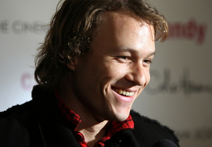 Heath Ledger! Ever since I saw him in 10 Things I Hate About You in...2001, I think. :)