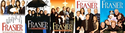I really want to complete my Frasier series on DVD so I need seasons 1, 2, 3, 5, and 6. I really really want them!!