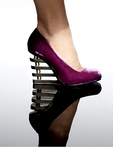 """I don't know what it is! I just find """"different"""" heel styles so cool!!!"""