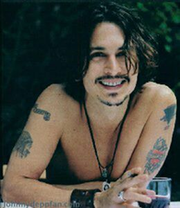 Here's a picture of Johnny Depp.