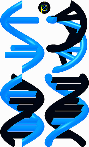 It's also meant to be a helix, Du know a DNA helix. So it's like the heroes' DNA! Hope this helped!!