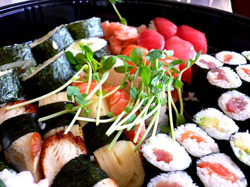 I could go for some diet kouk and some sushi!Hellz yea! SUSHI!!!!!!!!!!!!!!!