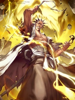 kenpachi is stronger than byakuya and he is the strongest captain.