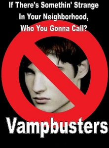 I like twilight but i only have like the 1st book,and i ain&#39;t an obssesor like some fans. And i can&#39;t go anywhere without seeing any f***in twilight crap..People are pushin&#39; their limits!! Sorry patterson, vampbusters gonna get yah! </dials # on buissness card>