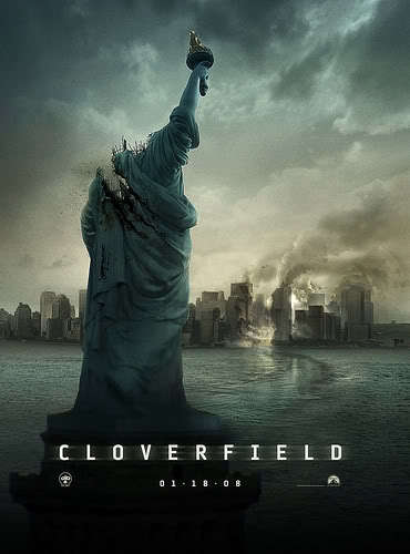 I don't see scary movies. But i did find Cloverfield kinda scary