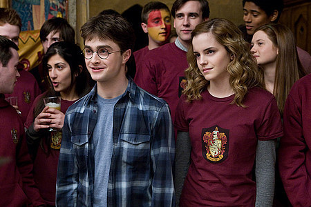 Yes, Harry is the Gryffindor Quidditch Captain in HBP. In the book, there is the chapter when he is trying out all the players and it turns into a total riot, but he gets himself a great team! The first game against Slytherin was a success( the picture I added, is of the after-party in Gryffindor's common room.)He also gats himself a detention during the final match against Ravenclaw, but the team ends up winning, and wins the Quidditch Cup, placing number one for that year. It was the only 년 Harry served as Quidditch Captain, as he wasn't at school the following year.