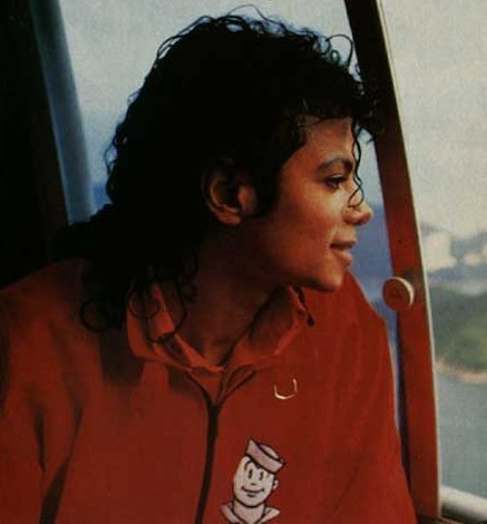 He recorded the song Fly Away in 1987. Go at this site and look at the bad album: http://www.allmichaeljackson.com/song-lyrics.html