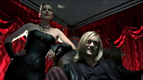 It's a tie between Pam (Ravenscroft) and Eric (Northman) I love them both. And who wouldn't sex appeal written allll over them ;)