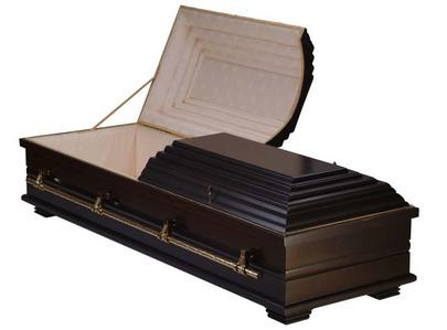 A coffin!