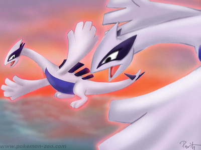 Maybe, there's an episode that say Lugia has a child