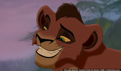 Possably the only Loin King character I like..